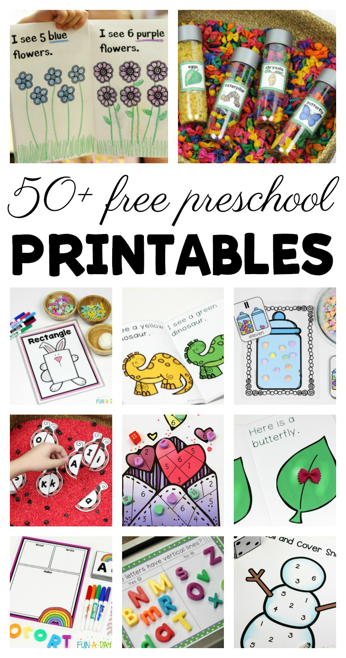 50+ Free Preschool Printables For Early Childhood Classrooms - Free Printable Stories For Preschoolers