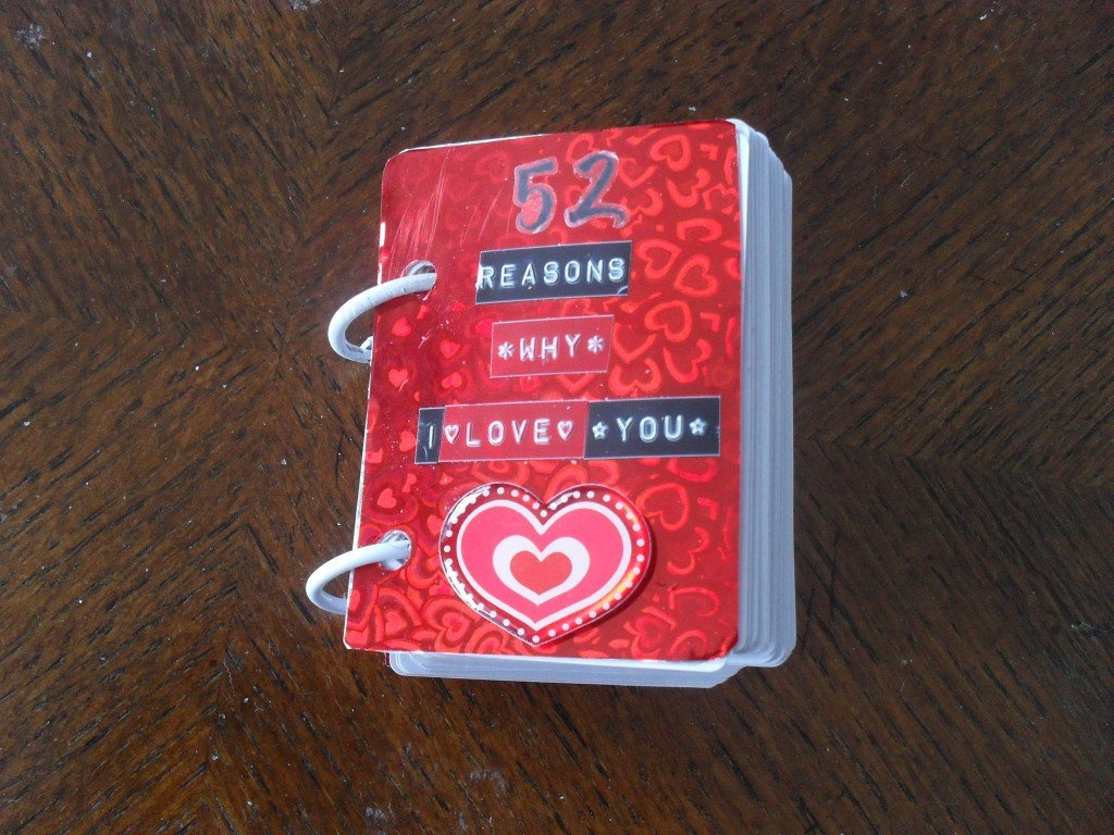 52 Reasons Why I Love You* - Tasteful Space - 52 Reasons Why I Love You Free Printable Template
