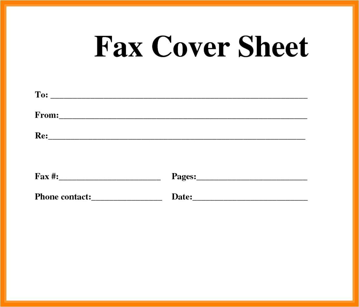 53 Fresh Fax Cover Sheet Template Word 2013 - All About Resume - Free Printable Fax Cover Sheet Pdf