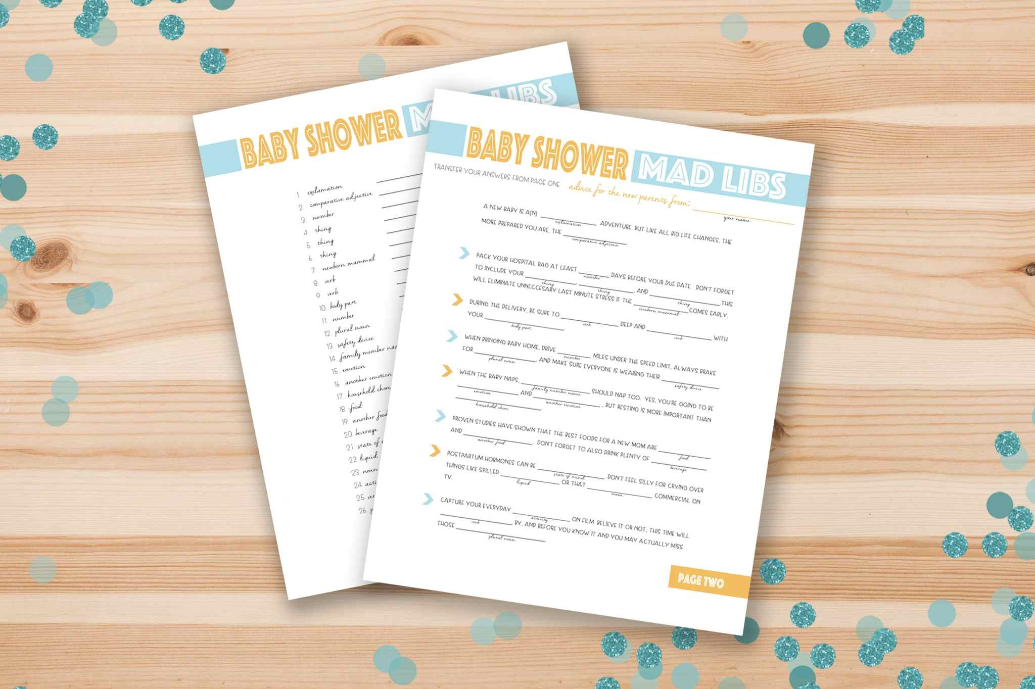 67 Free Printable Baby Shower Games - Unique Baby Shower Games Free Printable