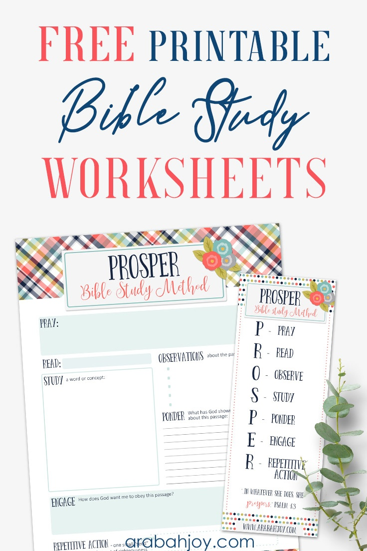 7 Easy Steps To Bible Study For Beginners - Free Printable Bible Studies For Women