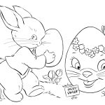 7 Places For Free, Printable Easter Egg Coloring Pages   Free Printable Easter Colouring Sheets