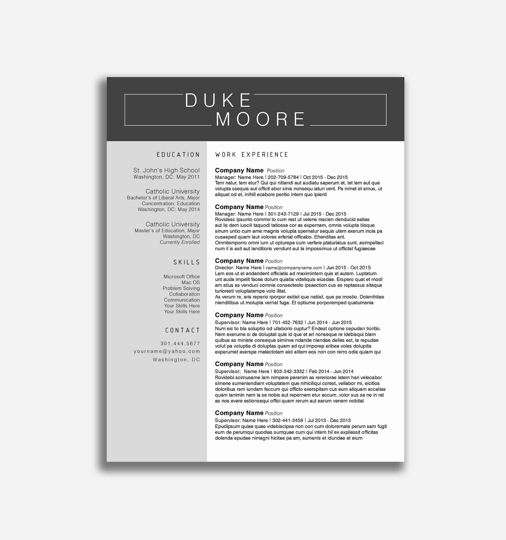 77 Resume Builder For Free To Print | Www.auto-Album - Free Printable Professional Resume Templates