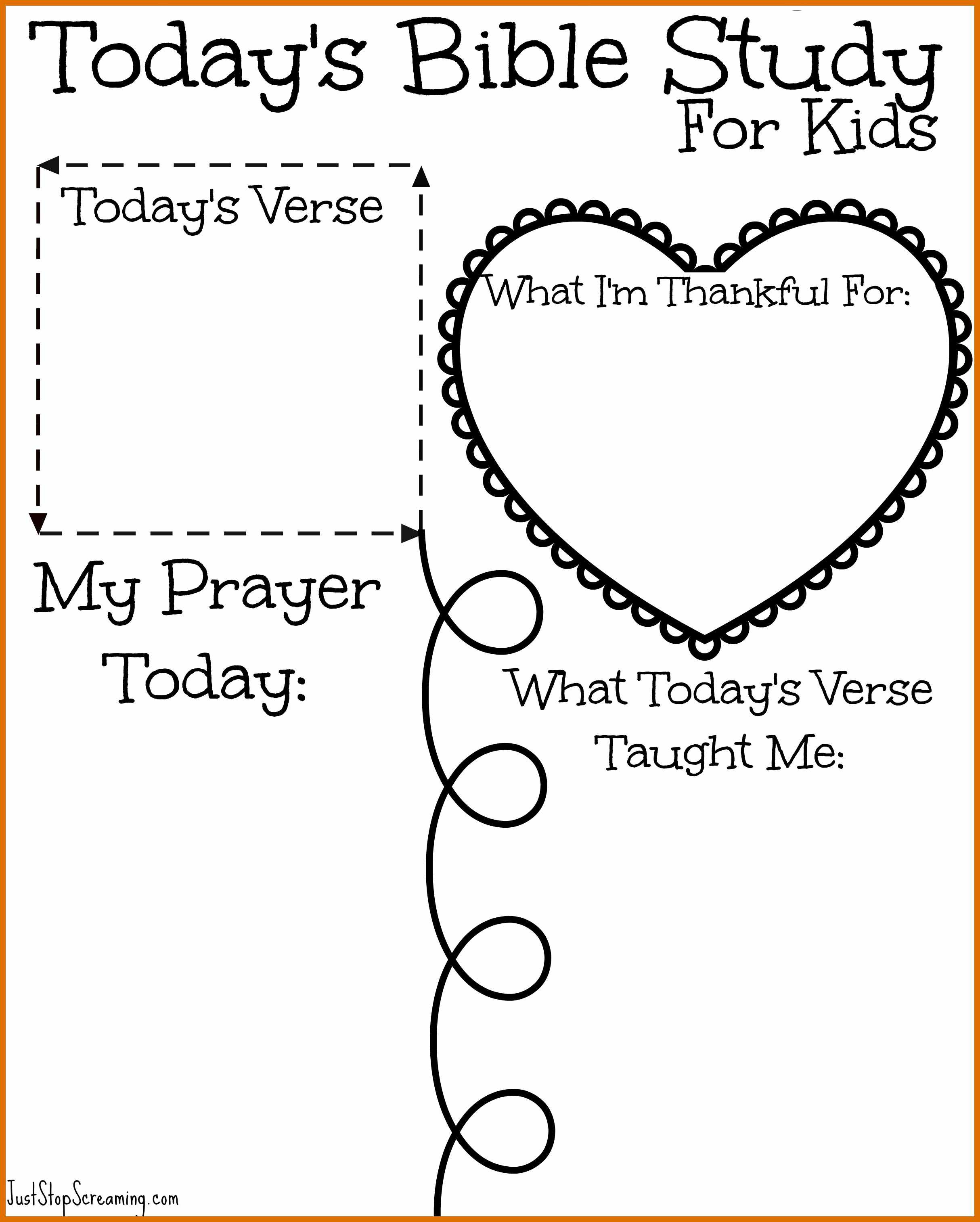 8-9 Free Printable Bible Study Worksheets | Sowtemplate - Free Printable Bible Lessons For Youth