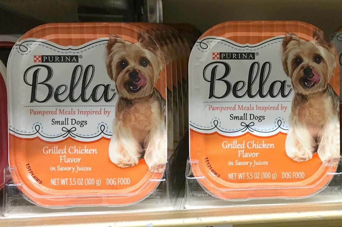 $8 In New Purina Bella Dog Food Coupons - Bella Trays Only $0.31 At - Free Printable Coupons For Purina One Dog Food