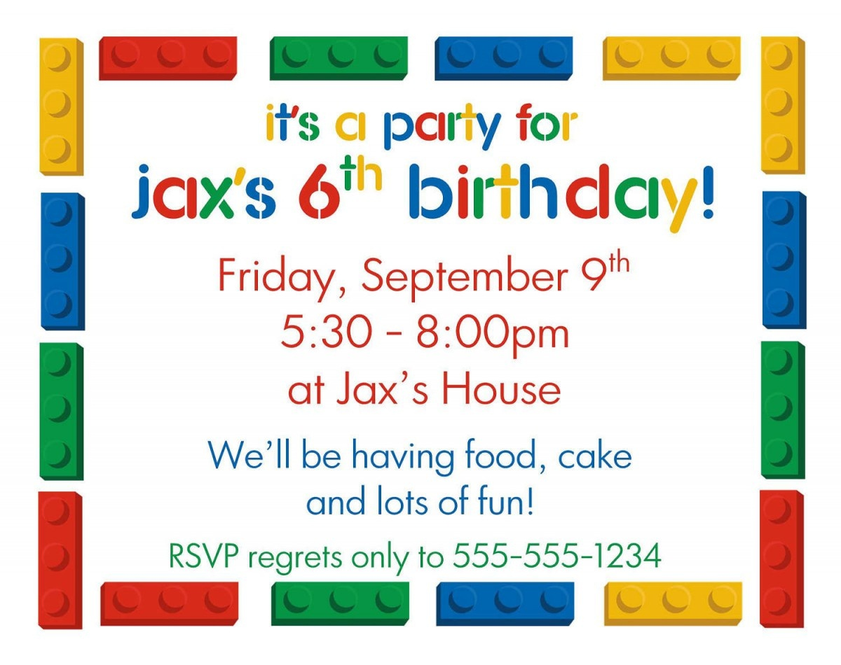 95+ Free Kid Birthday Invitations Printable - Free Pool Party - Free Printable Boy Birthday Invitations