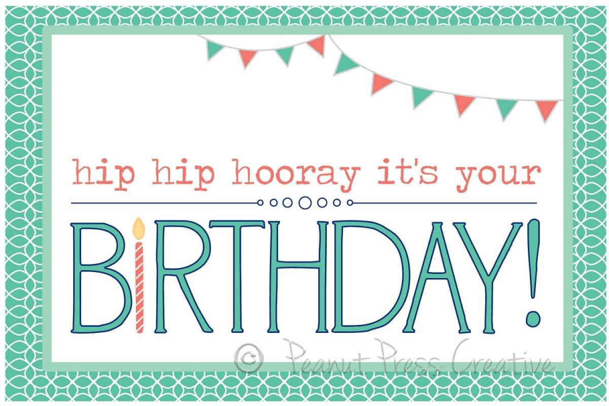 97+ Birthdays Cards To Print Free - Printable Birthday Card Maker - Free Printable Cards Online