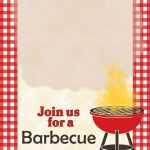 A Barbecue   Free Printable Party Invitation Template | Greetings   Free Printable Cookout Invitations