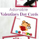 Adorable Preschool Valentine's Day Cards (Free Printables)   Natural   Free Printable Valentines Day Cards Kids