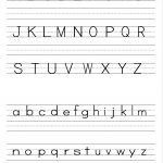 Alphabet Writing Practice Sheet | Edu Fun | Alphabet Worksheets   Free Printable Alphabet Worksheets For Kindergarten
