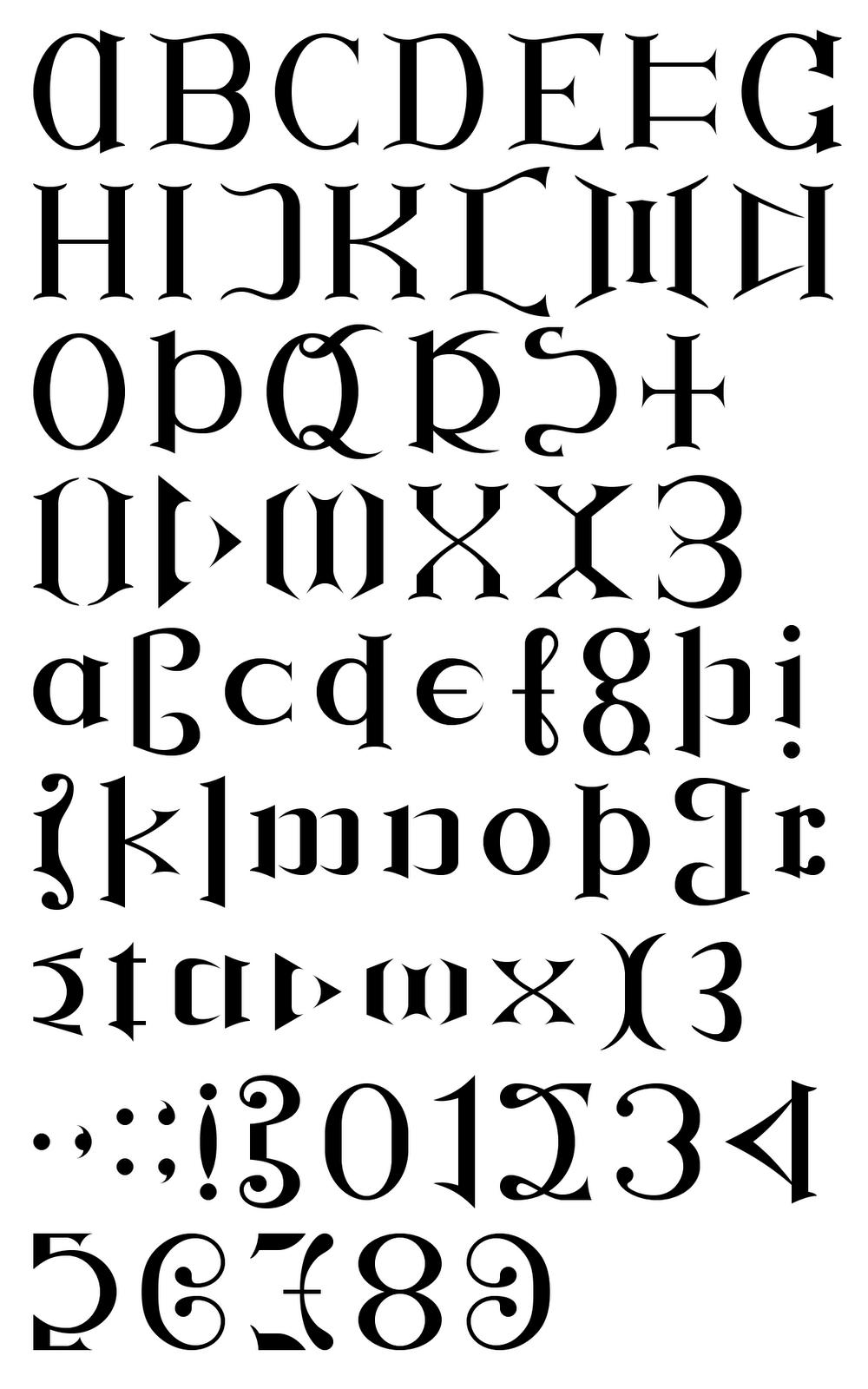 Ambigram Font   Graphic Design: Ambigrams   Tattoo Fonts, Tattoo - Ambigram Generator Free Printable