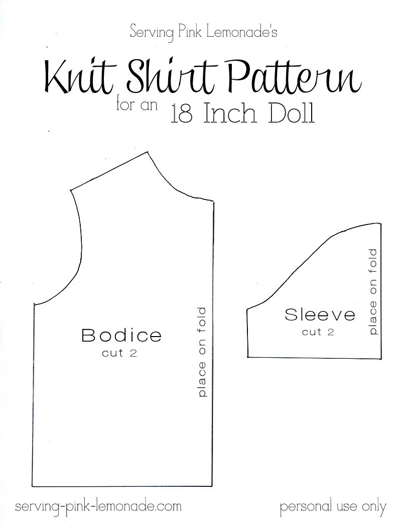 American Girl Doll Clothes Patterns Free Printable (88+ Images In - American Girl Doll Clothes Patterns Free Printable
