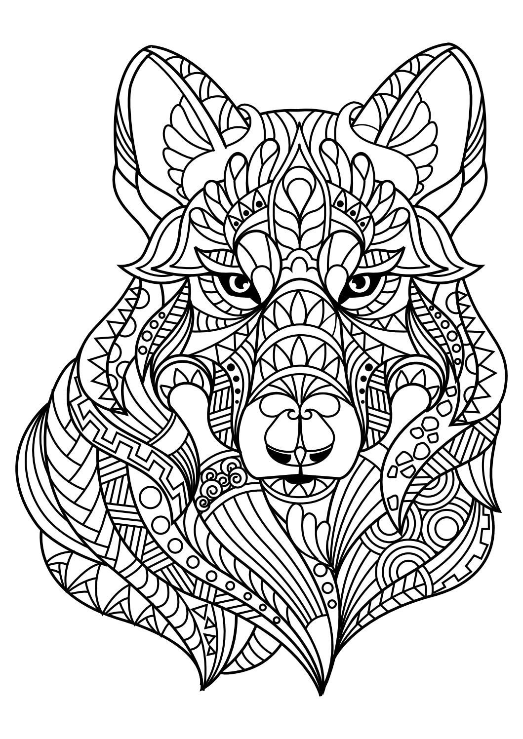 Animal Coloring Pages Pdf | Coloring - Animals | Animal Coloring - Free Printable Animal Coloring Pages