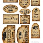 Apothecary Jar Labels For Download …   Holiday   Halloween   Free Printable Halloween Labels