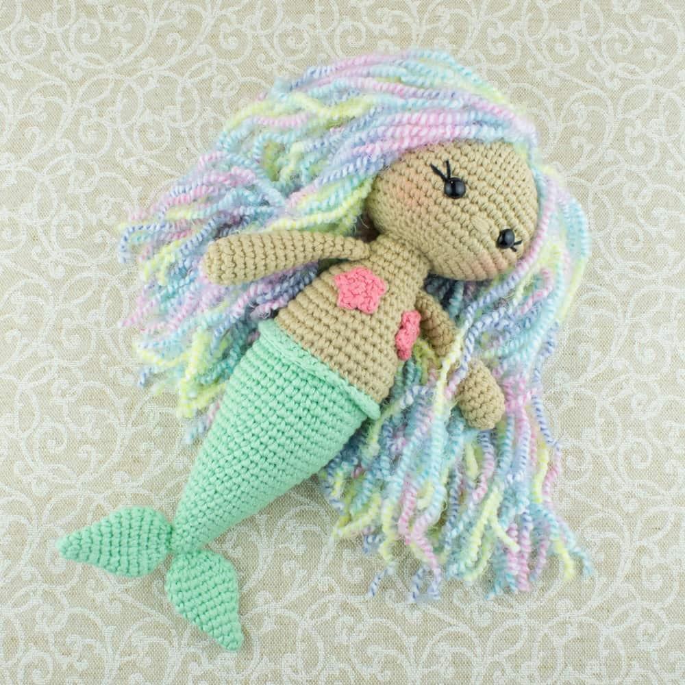 Aurora Mermaid Amigurumi Pattern - Amigurumi Today - Free Printable Crochet Patterns