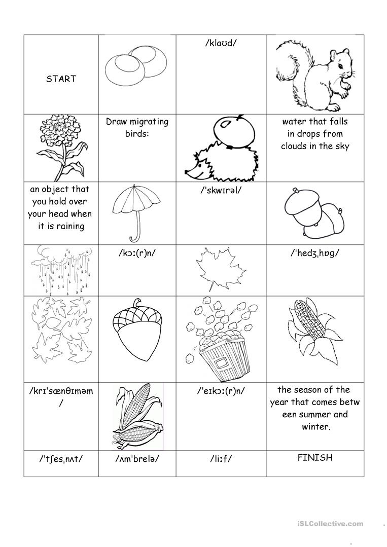 Autumn Worksheet - Free Esl Printable Worksheets Madeteachers - Free Printable Autumn Worksheets