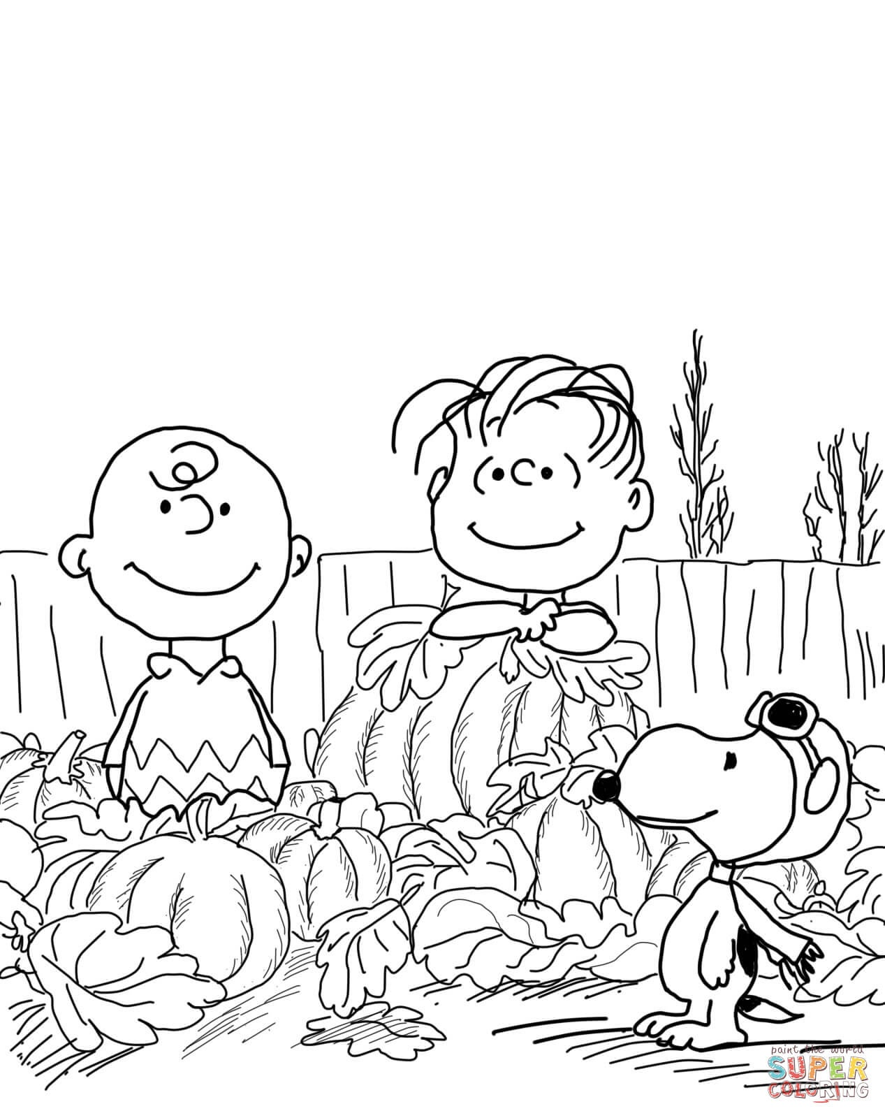 Awesome Free Printable Charlie Brown Halloween Coloring Pages - Free Printable Charlie Brown Halloween Coloring Pages