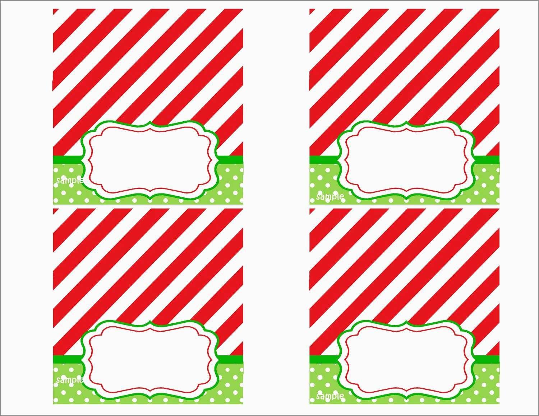 Awesome Free Printable Christmas Table Place Cards Template | Best - Free Printable Place Card Templates Christmas