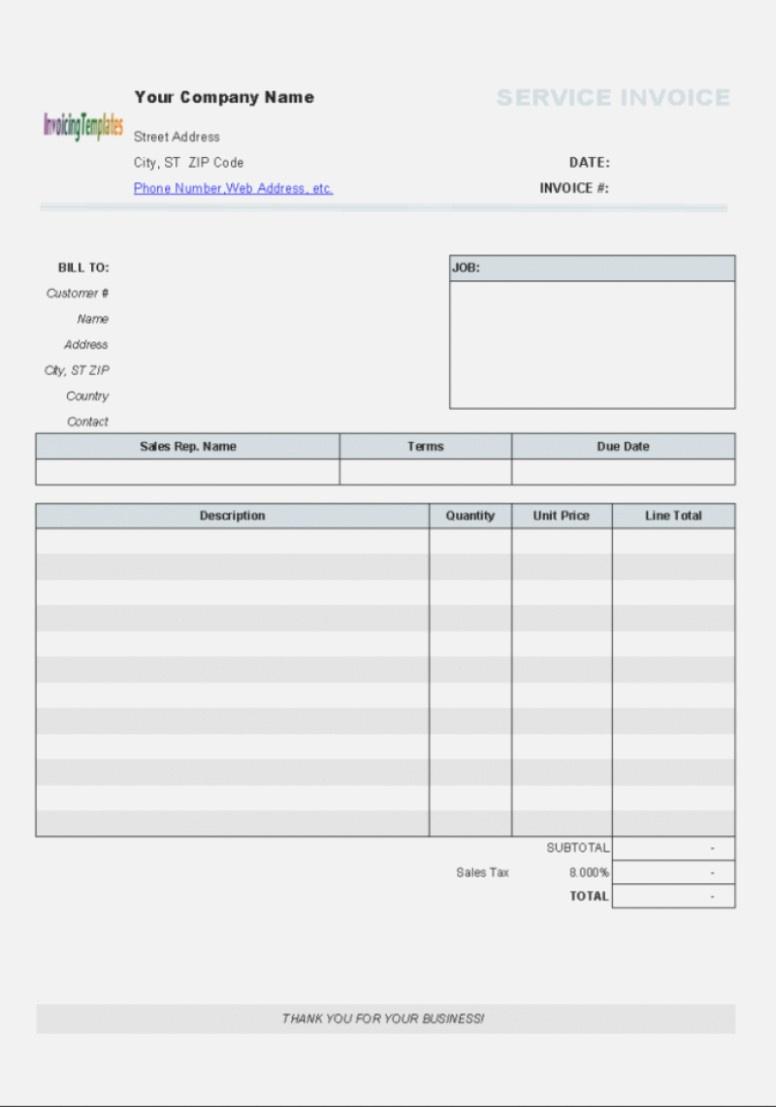 Aynax Free Printable Invoice – Hardhost – The Invoice And Form - Aynax Com Free Printable Invoice