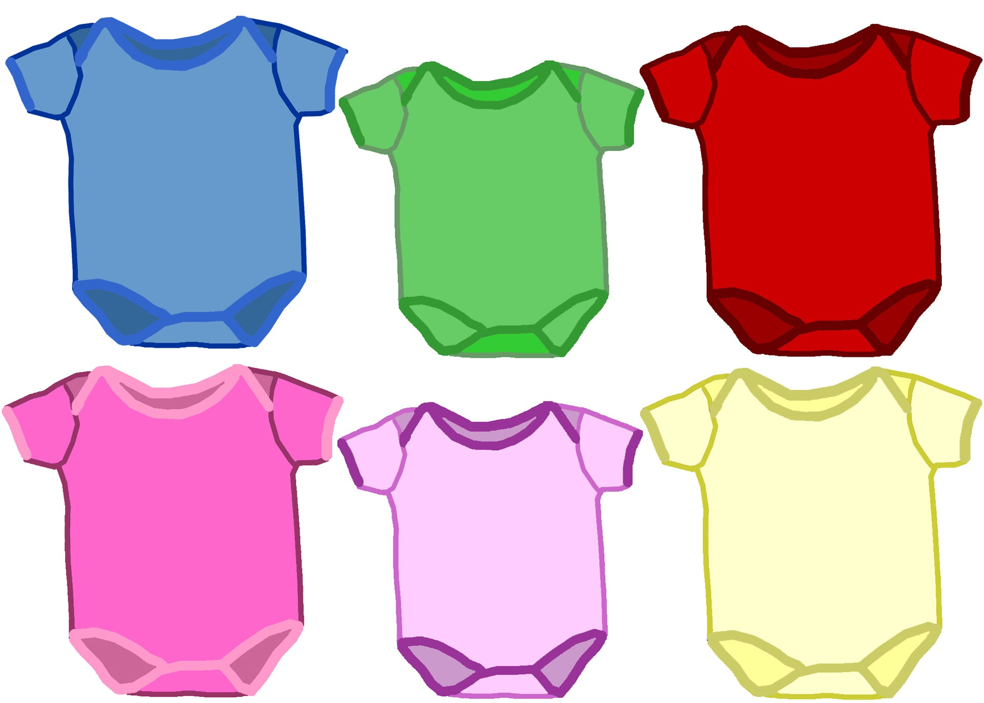 Baby Girl Onesies Clipart | Free Download Best Baby Girl Onesies - Free Printable Onesies