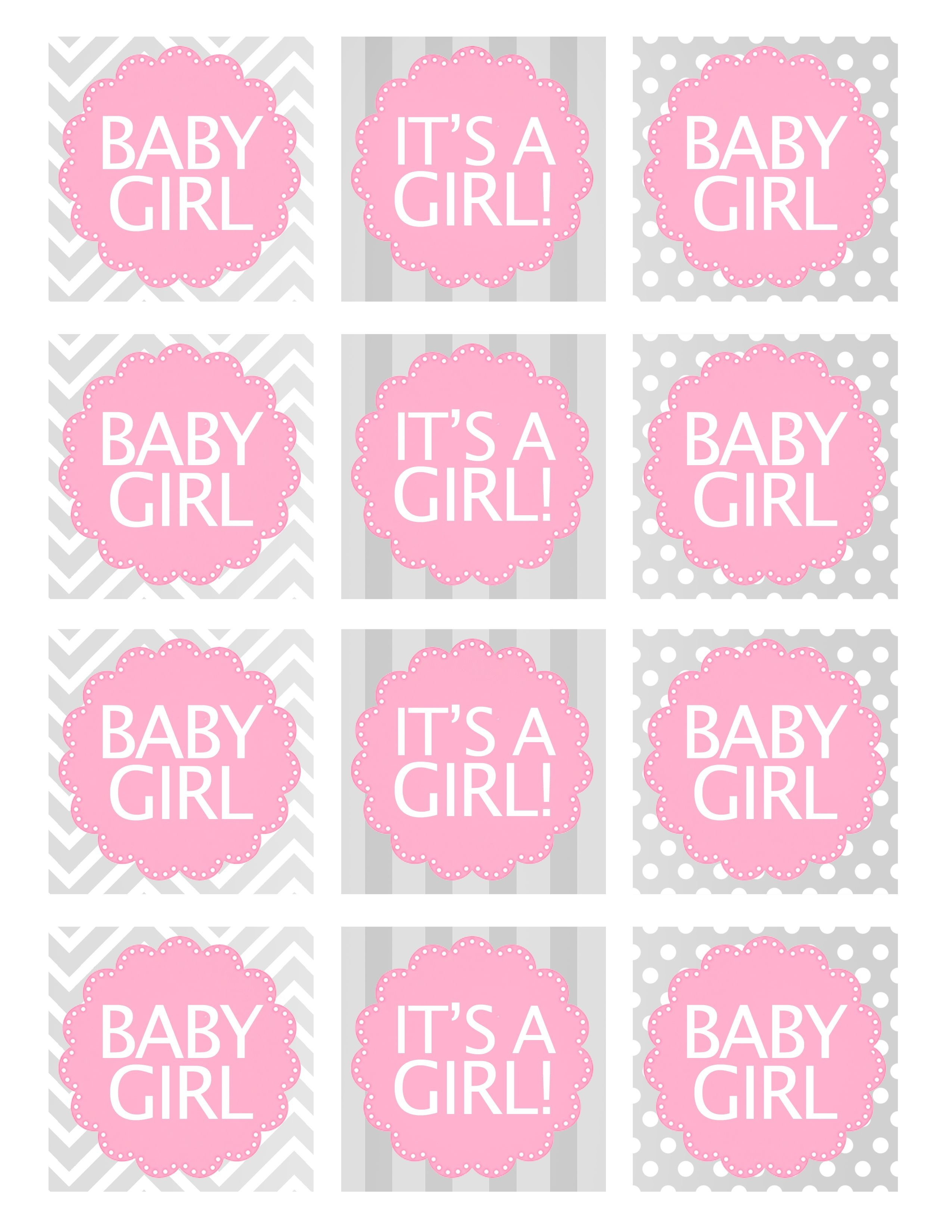 Baby Girl Shower Free Printables   Baby Shower Ideas   Baby Shower - Free Printable Baby Shower Labels And Tags