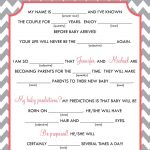 Baby Mad Libs   Baby Advice, Printable Digital File. $15.00, Via   Baby Shower Mad Libs Printable Free