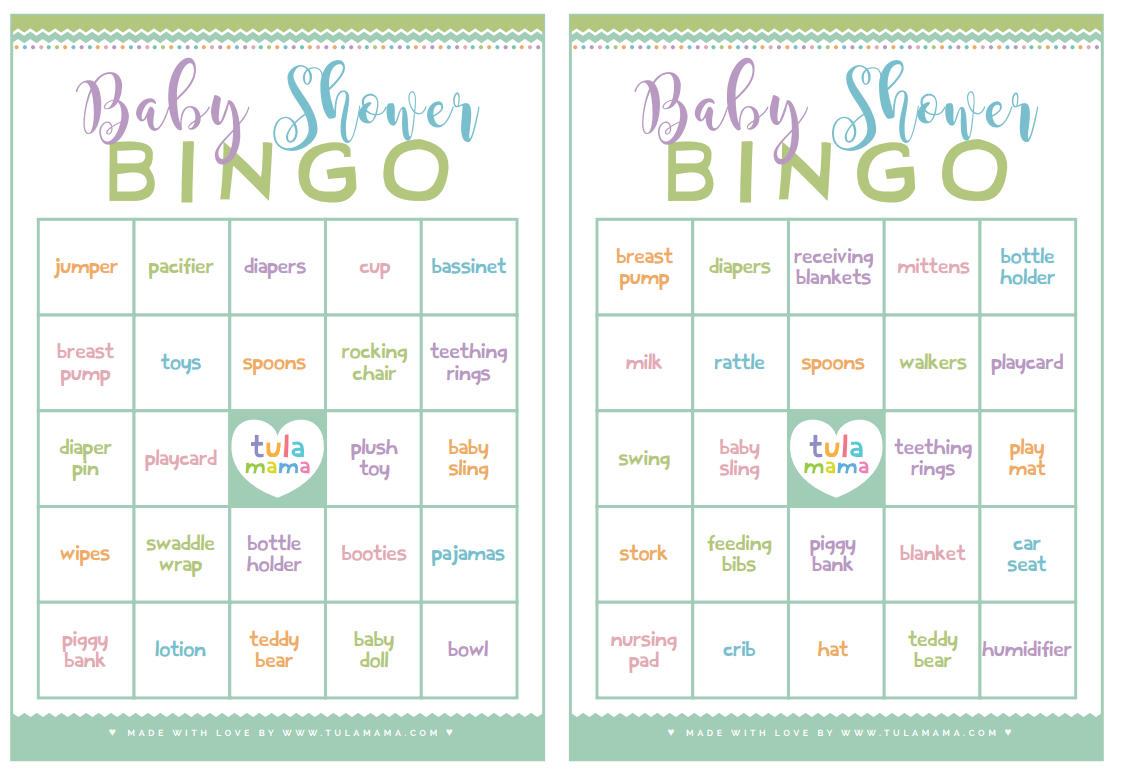 Baby Shower Bingo - A Classic Baby Shower Game That's Super Easy To Plan - Free Printable Baby Shower Bingo Cards