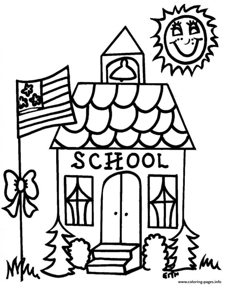 Free Printable Coloring Sheets For Back To School