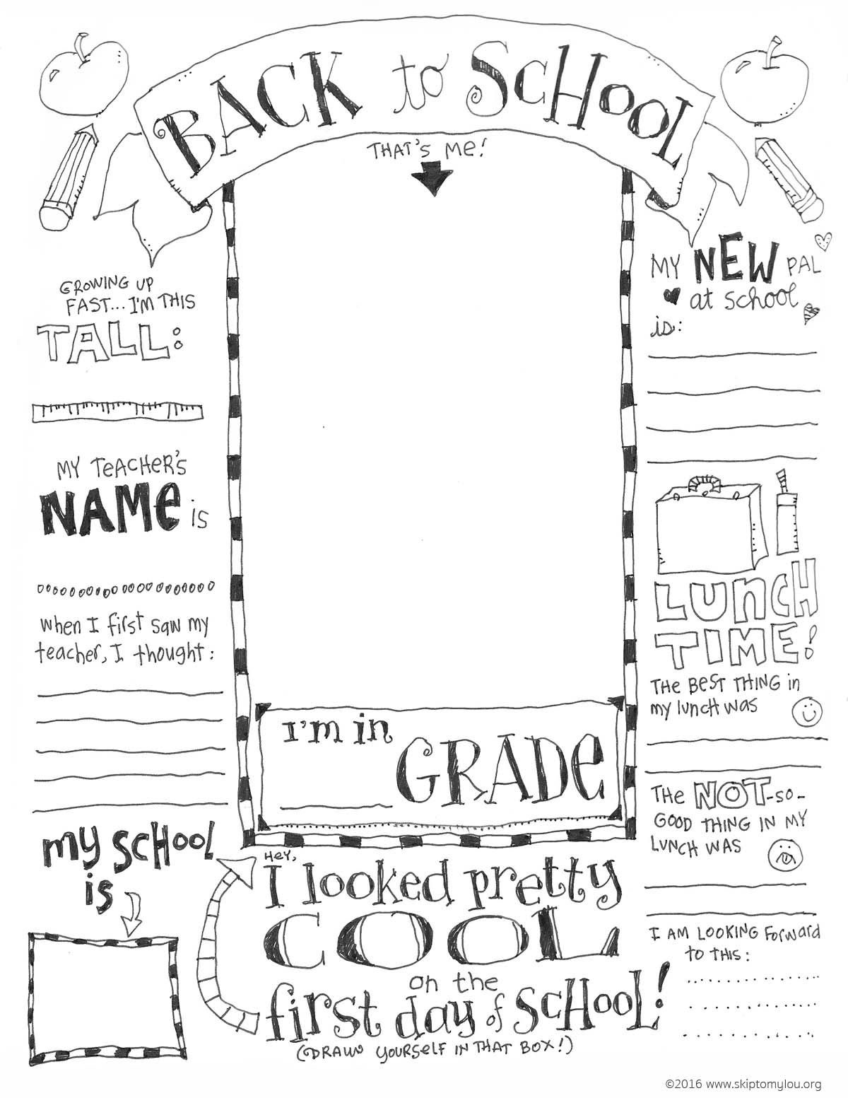 Back To School Coloring Pages | School Days | School Coloring Pages - Free Printable First Day Of School Coloring Pages