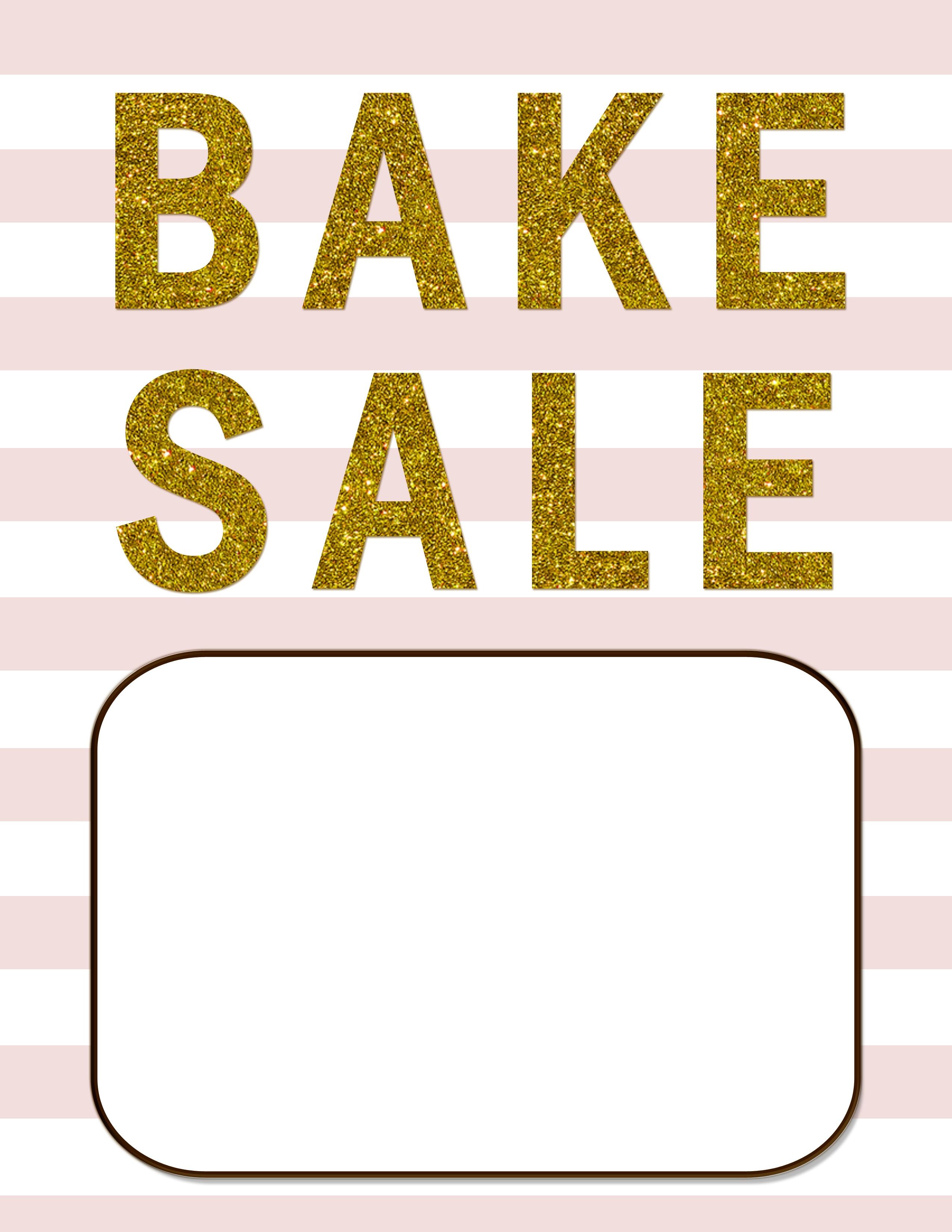 Bake Sale Flyers – Free Flyer Designs - Create Free Printable Flyer