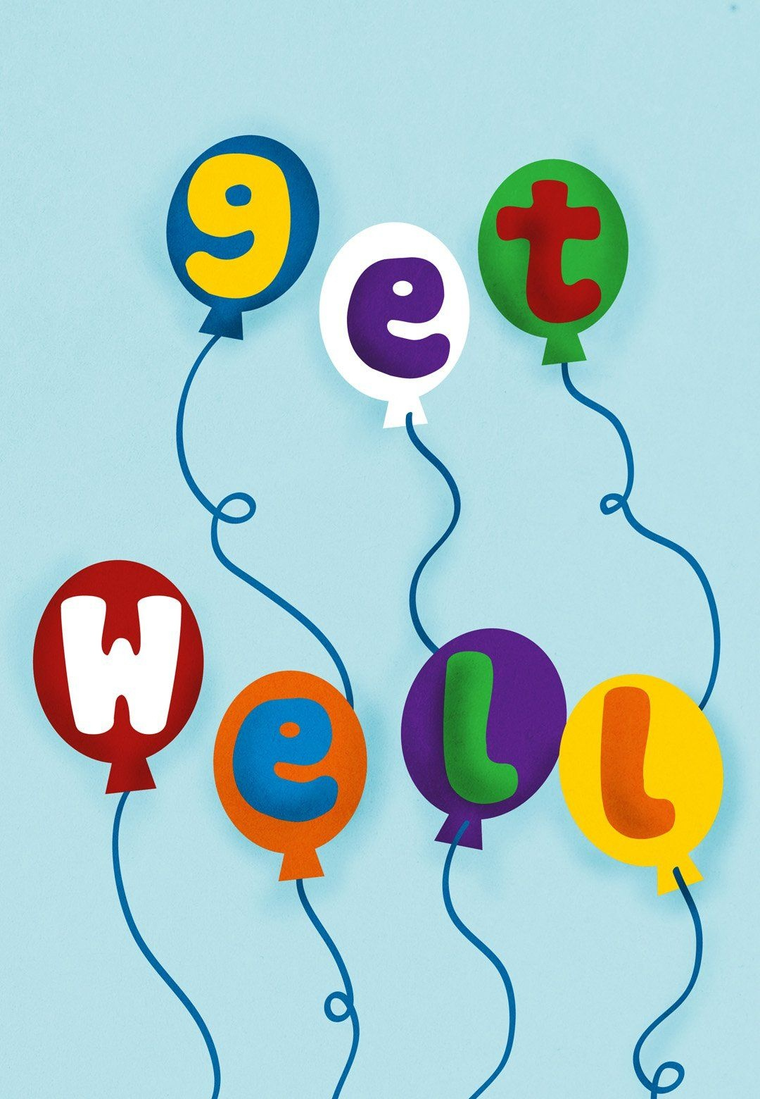 Balloons - Free Get Well Soon Card   Greetings Island   Young Womens - Free Printable Get Well Soon Cards