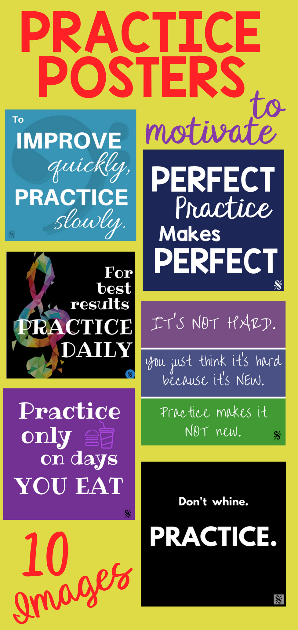 Band Hall Bulletin Board Printables | Brass Band | Music Bulletin - Free Printable Music Posters