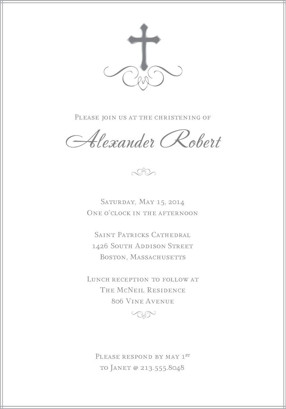 Baptism Invitations Templates Free Download | Daughter & Son - Free Printable 1St Communion Invitations