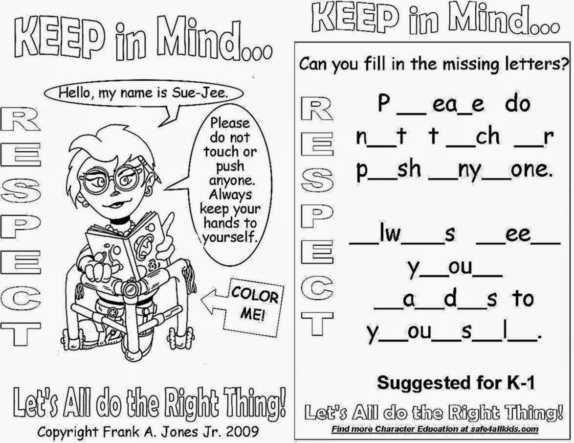 Beautiful Respect Coloring Pages To Print | Top Free Printable - Free Printable Coloring Pages On Respect