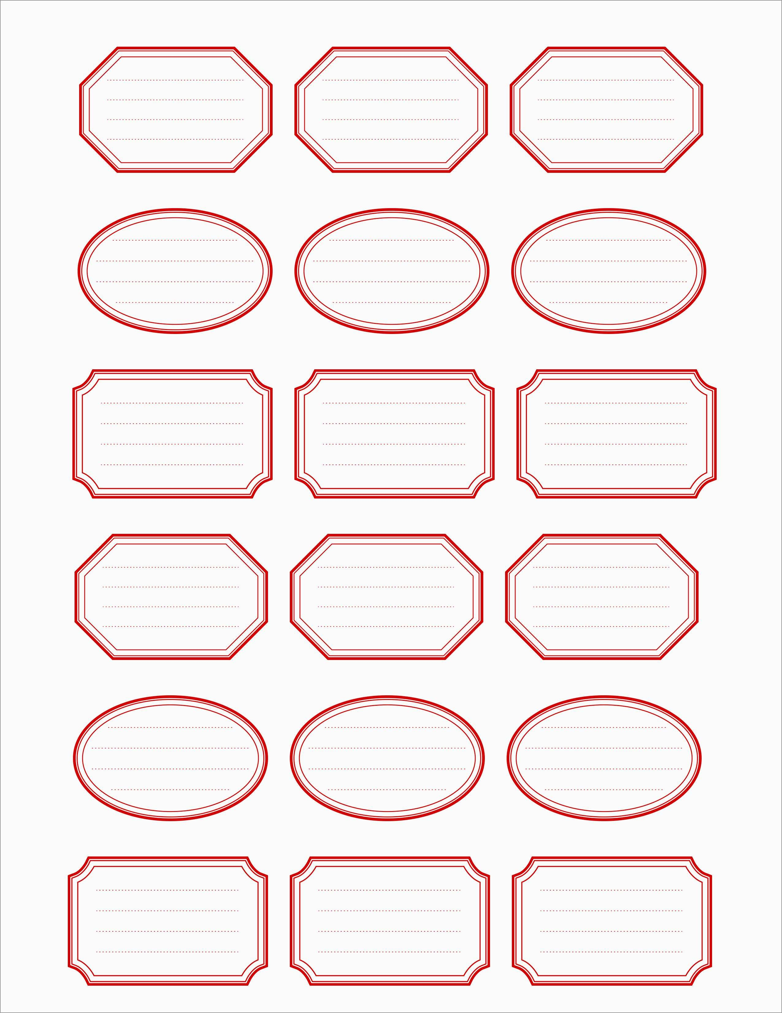 Best Of Free Printable Shipping Label Template | Best Of Template - Free Printable Label Templates
