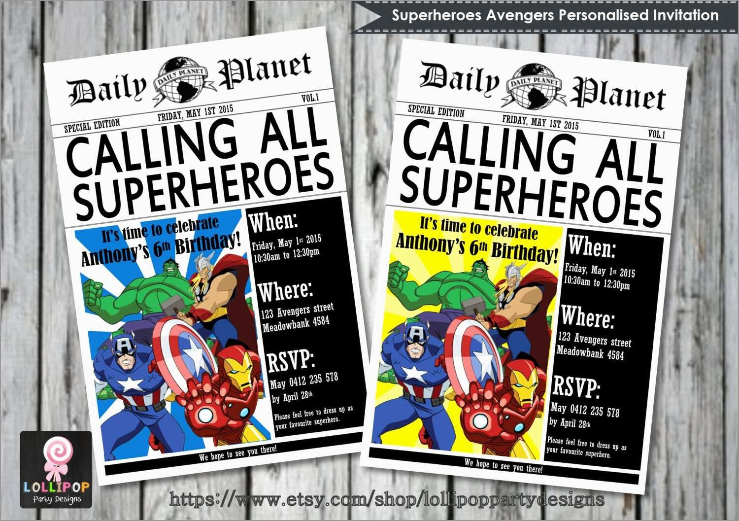 Best Of Marvel Party Invitation Template Free   Best Of Template - Avengers Party Invitations Printable Free