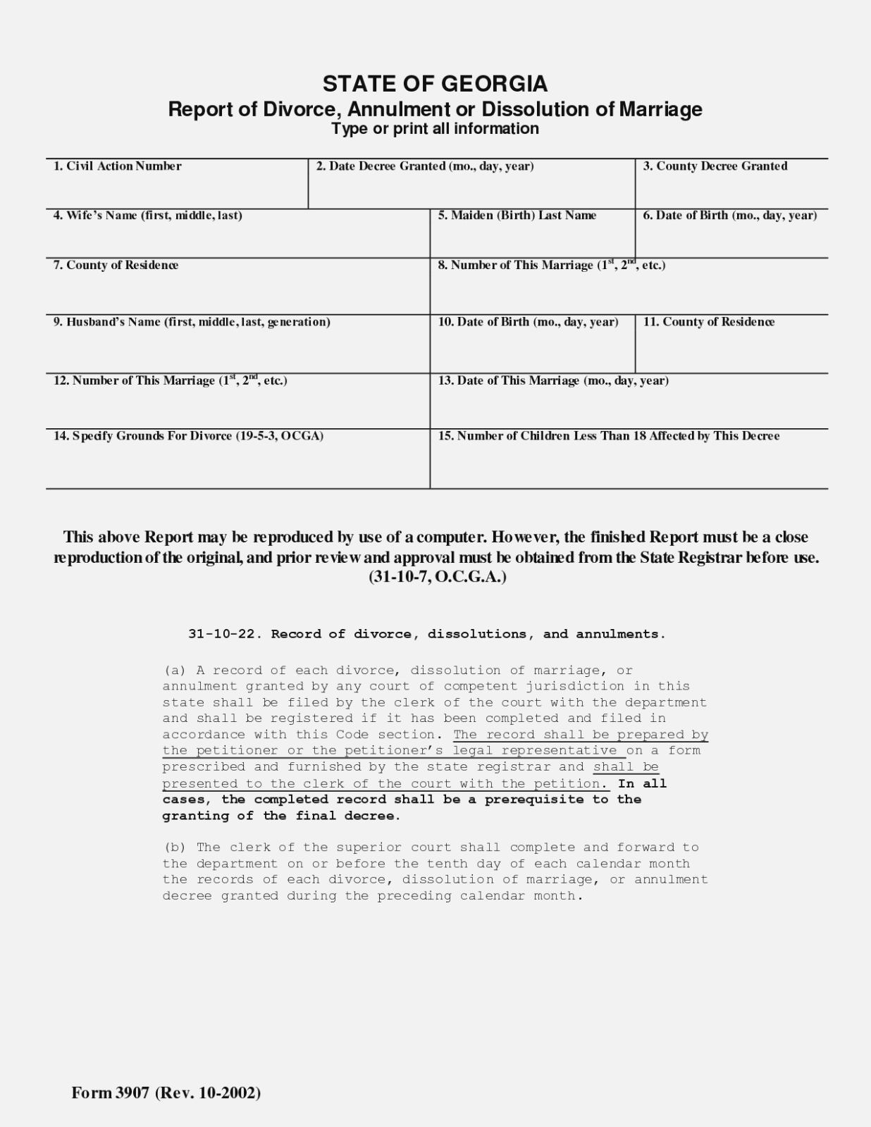 Best Photos Of Printable Uncontested Divorce Papers Georgia – Free - Free Printable Uncontested Divorce Forms Georgia