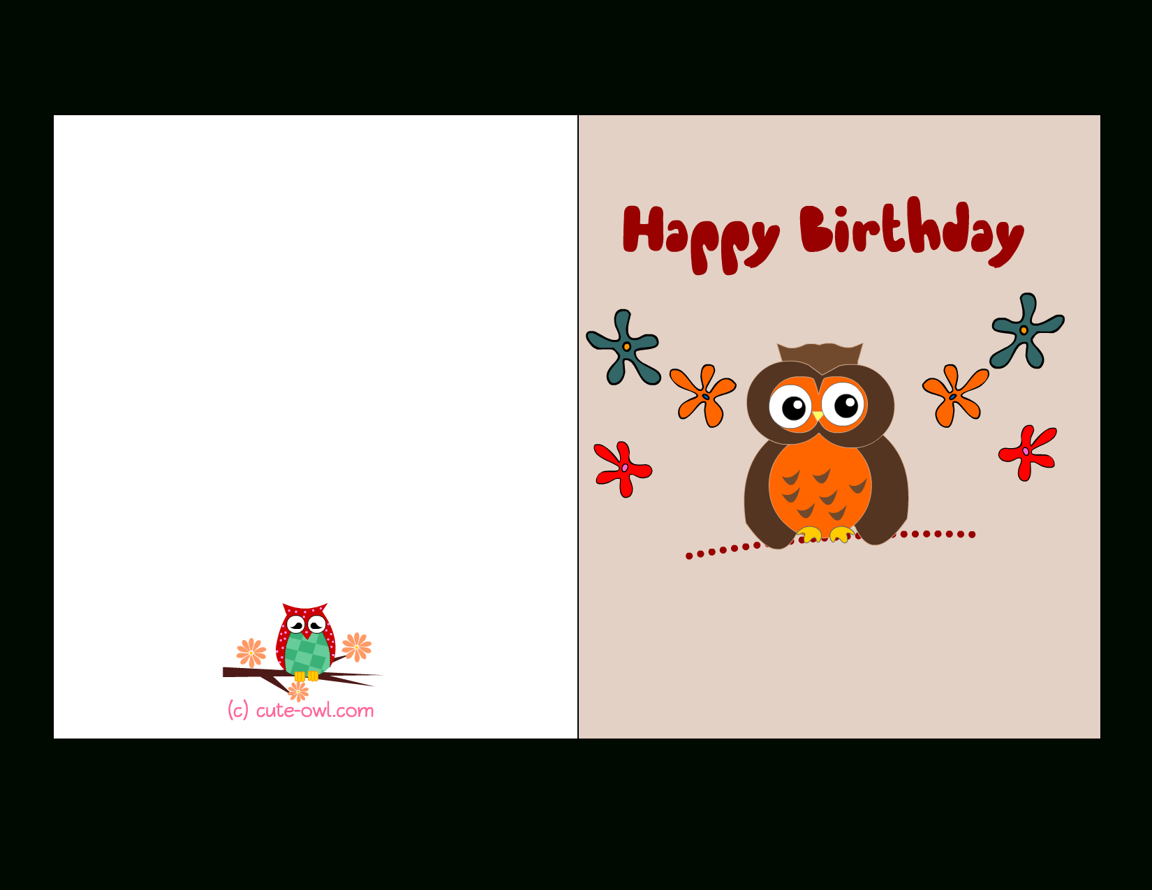 Birthday Card For Printable - Tutlin.psstech.co - Free Online Printable Birthday Cards