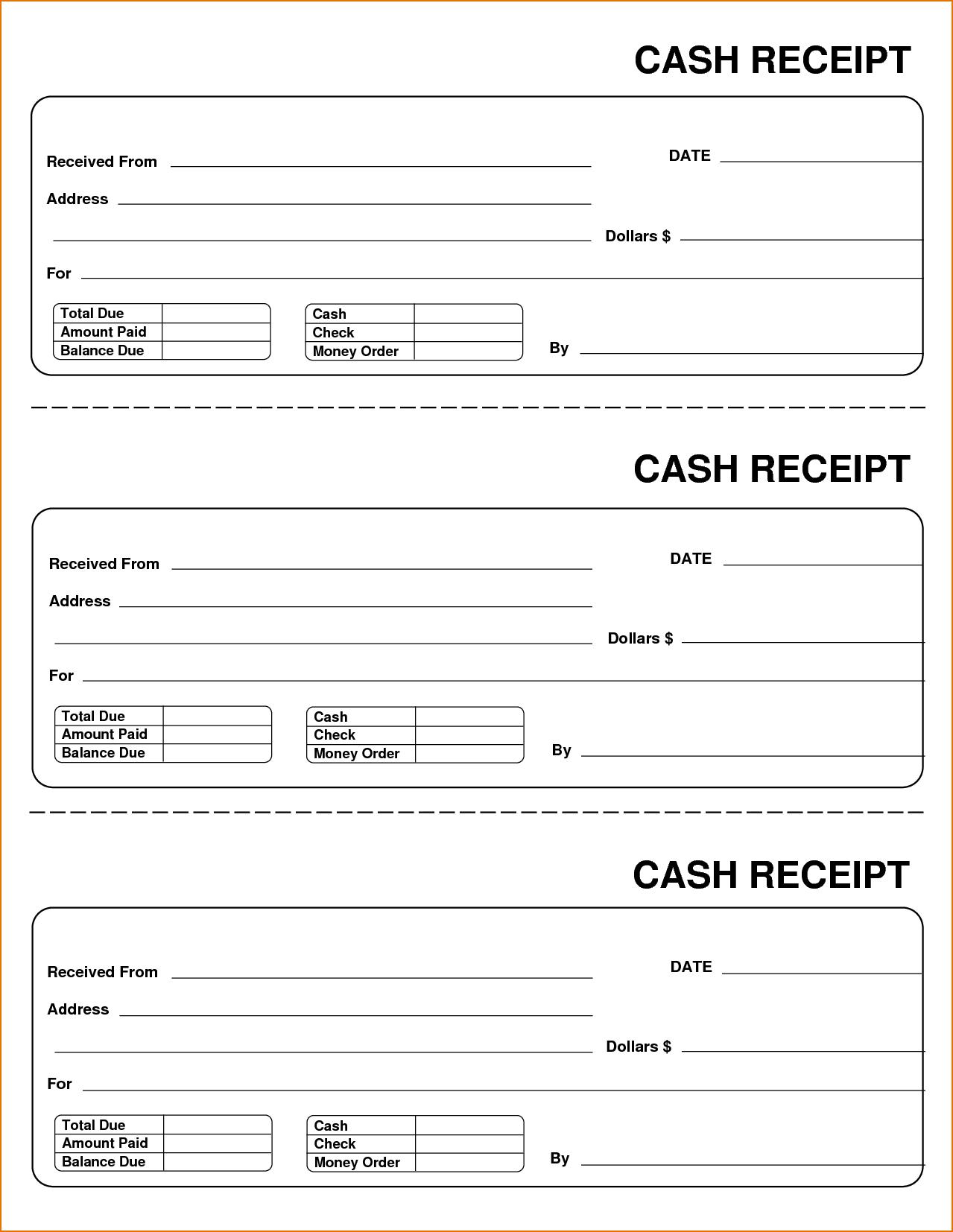 Blank Receipt Form Word 75 Free Printable Sales - Free Printable Sales Receipt Form