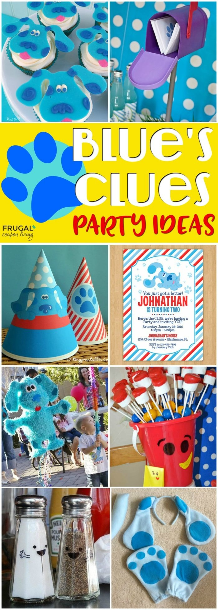 Blue's Clues Party Ideas For Your Child's Themed Birthday Party - Blue's Clues Invitations Free Printable