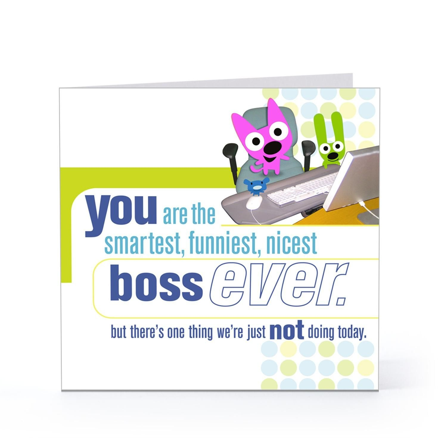 Boss Day Quotes For Facebook   Happy Boss Day Quotes Funny   Boss - Free Printable Funny Boss Day Cards
