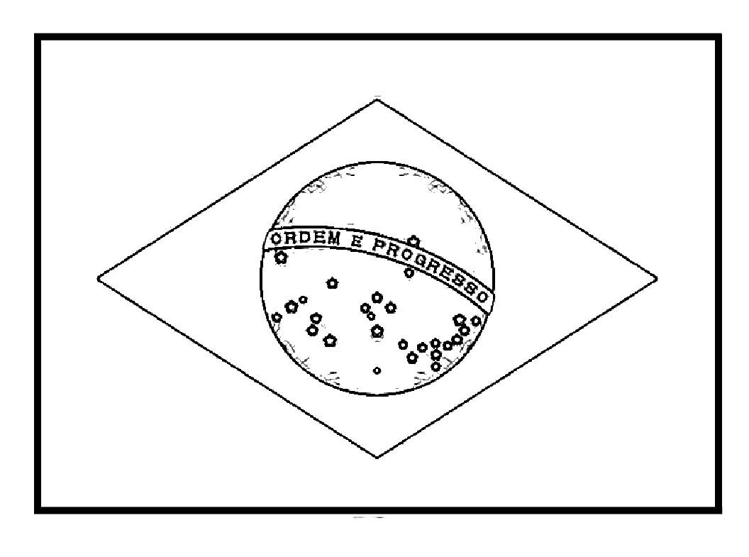 Brazil Flags For Coloring   Work   Brazil Flag, Flag Coloring Pages - Free Printable Brazil Flag
