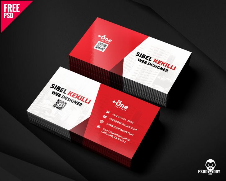 Free Printable Business Card Maker