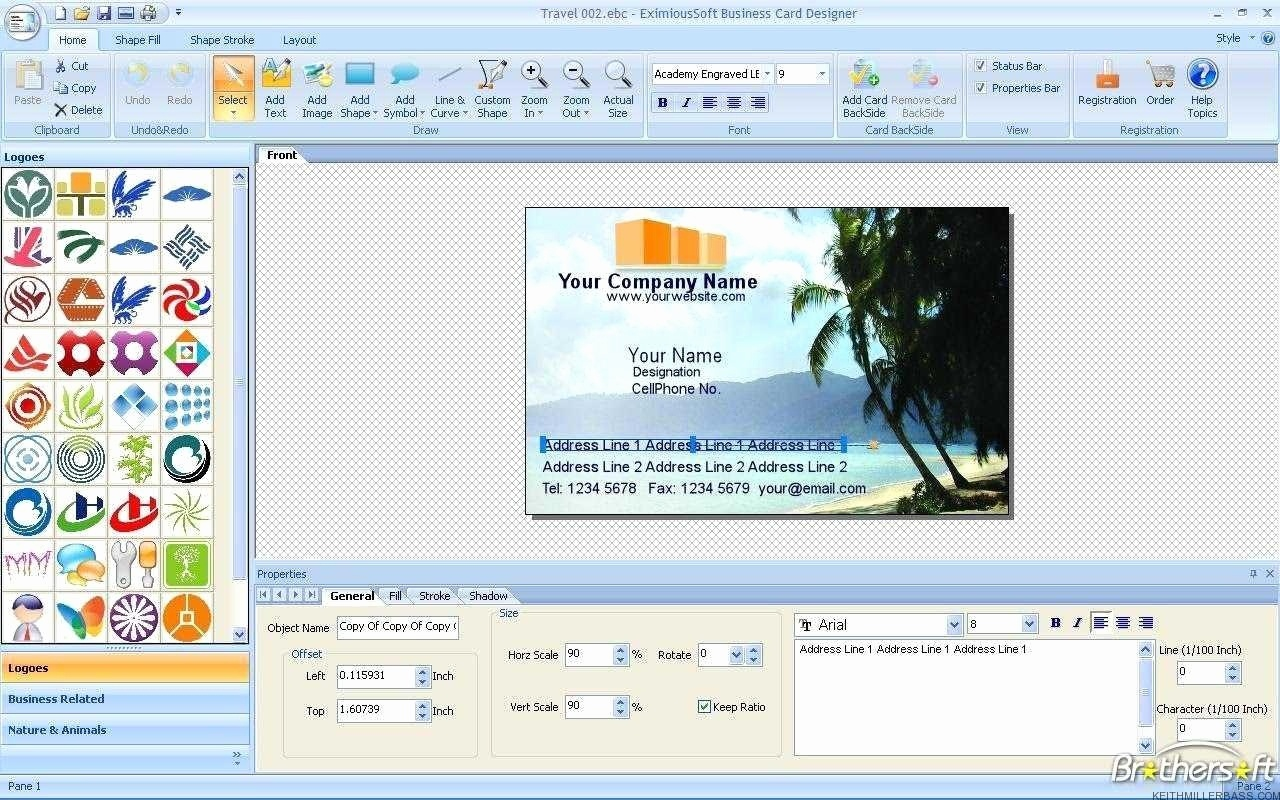 Business Card Maker Printable Unique Free Printable Business Card - Free Card Creator Printable
