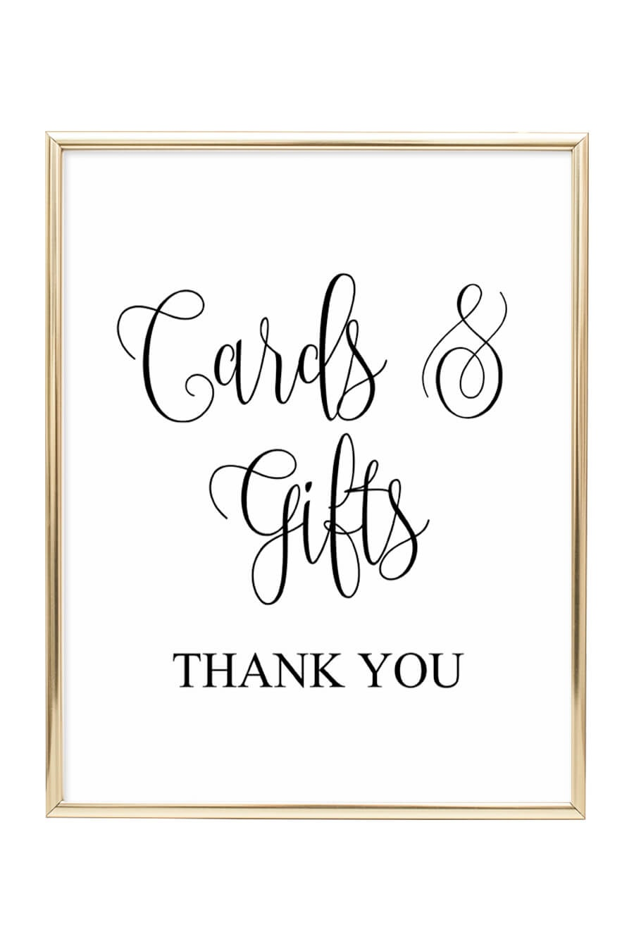 Cards And Gifts Wedding Sign - Chicfetti - Free Printable Cards