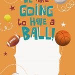 Celebrate 6Th Birthday   Free Printable Sports & Games Invitation   Free Printable Sports Birthday Invitation Templates