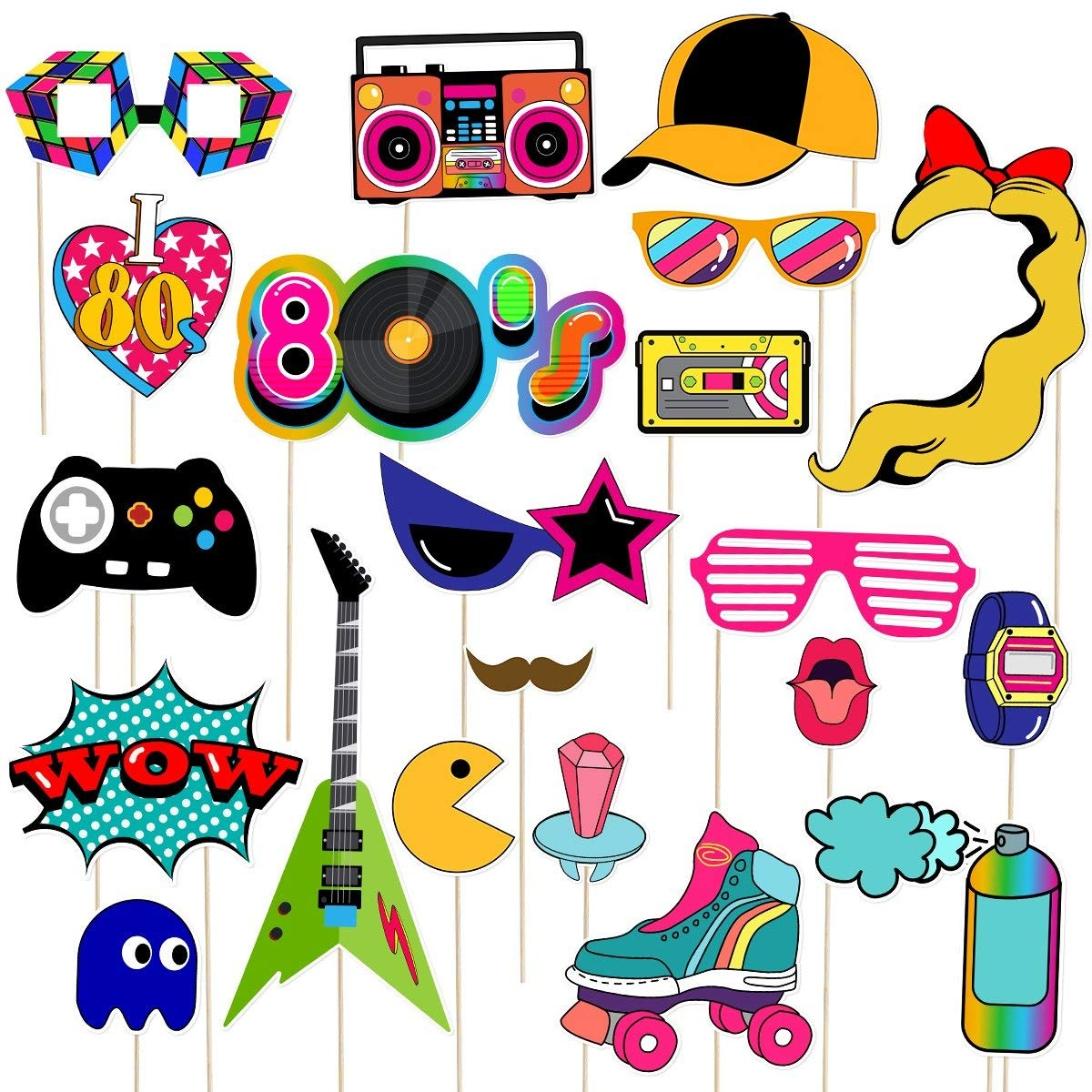 Cheap Creative Photo Props, Find Creative Photo Props Deals On Line - 80S Photo Booth Props Printable Free
