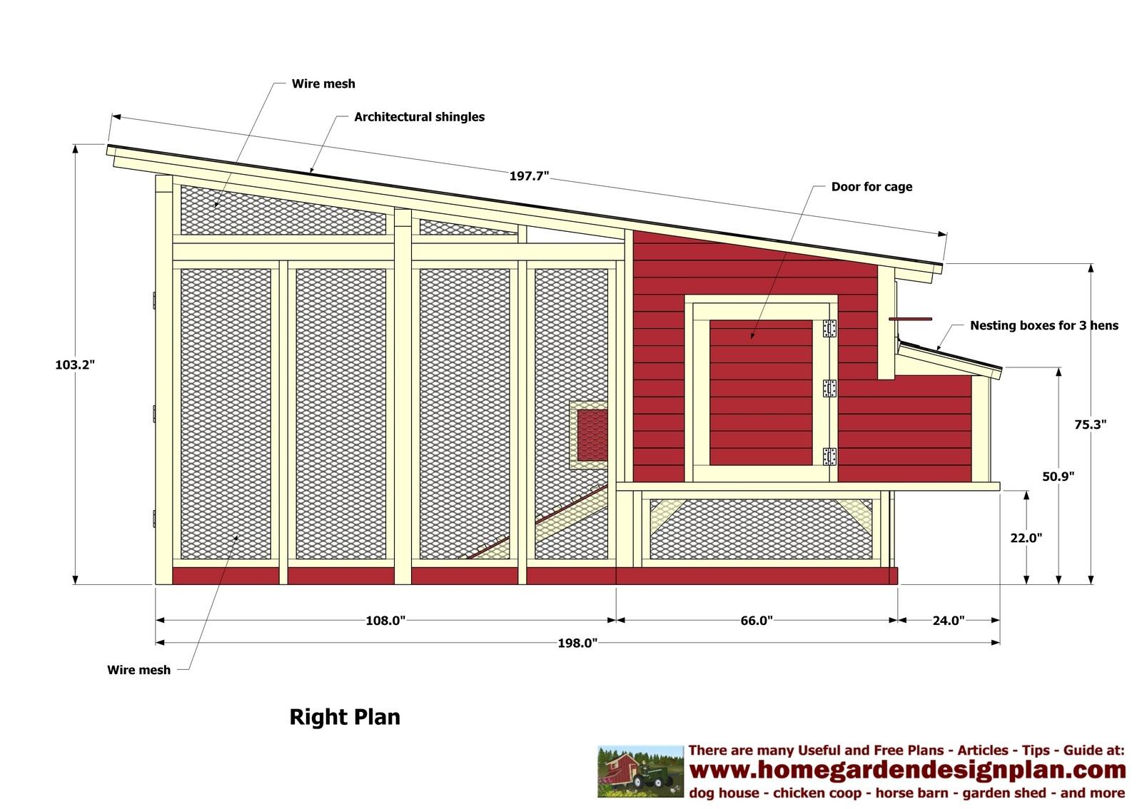 Chicken Coop Plans Pdf Free | Venpa - Free Printable Chicken Coop Plans