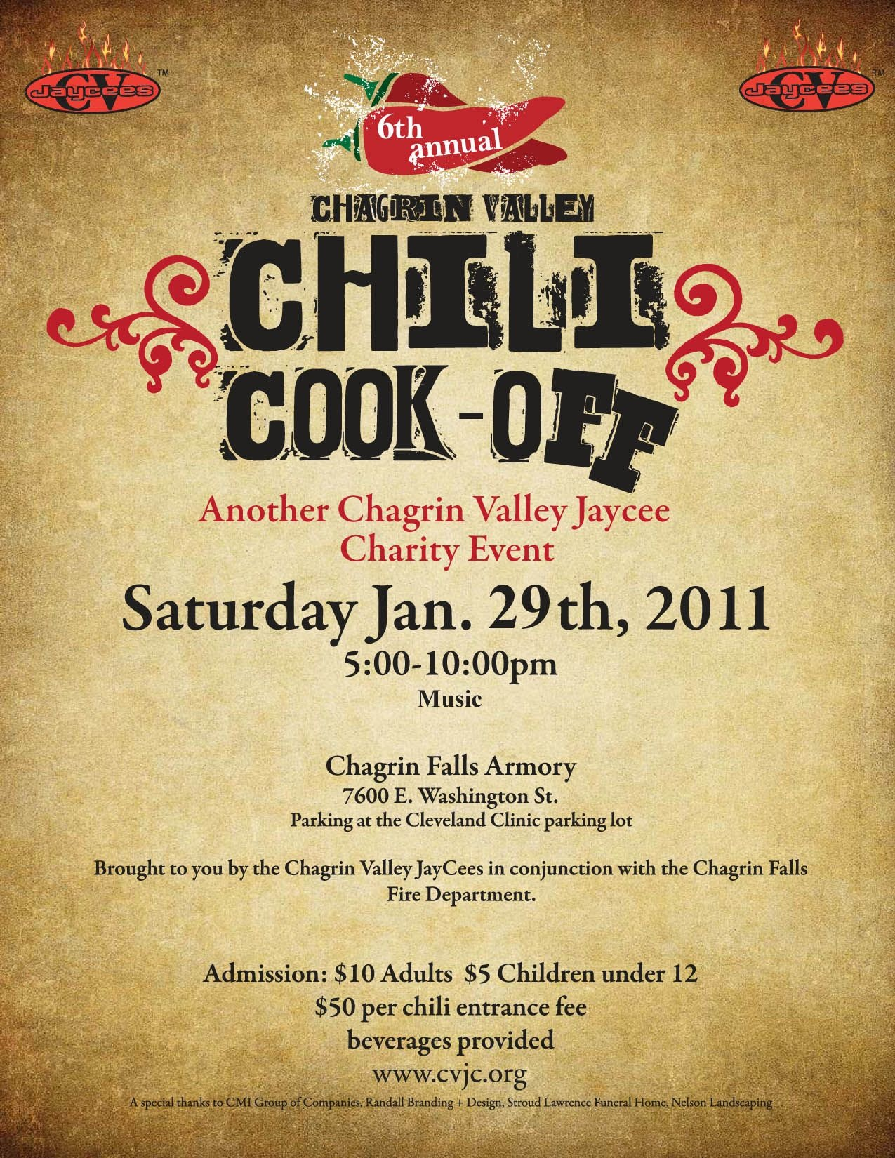 Chili Cook Off Flyer Template Free Printable - Wow - Image - Create Free Printable Flyer