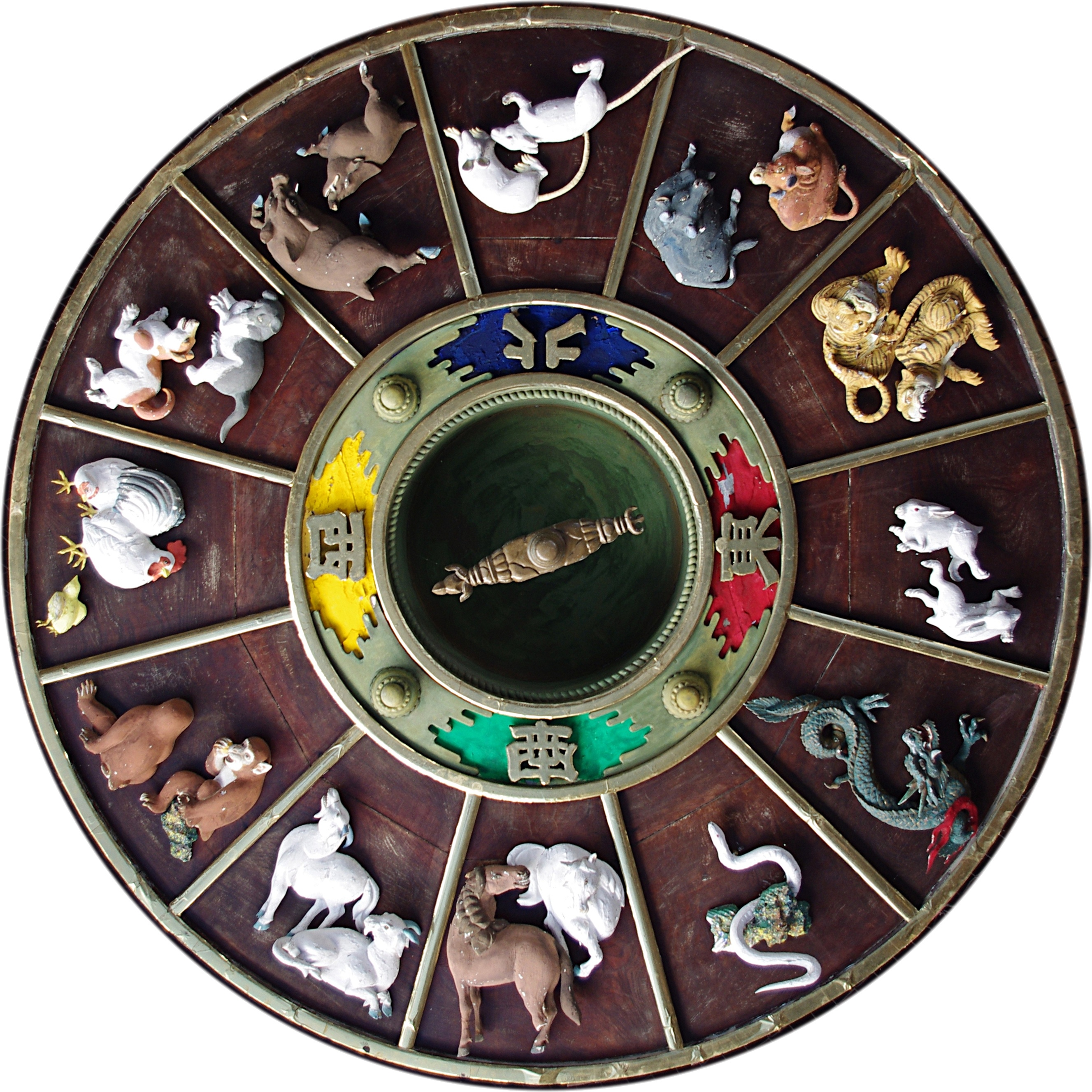 Chinese Zodiac - Wikipedia - Free Printable Chinese Zodiac Wheel